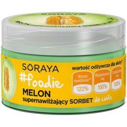 Soraya Foodie Melon Sorbet do ciała supernawilżający 200ml