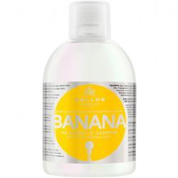 Kallos szampon Banana do włosów suchych, słabych i wyblakłych 1000ml