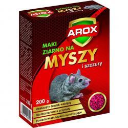 Arox ziarno na myszy i szczury 200g