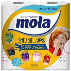 Mola UPS ręcznik papierowy Super wytrzymały 2szt.