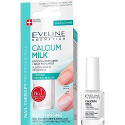 Eveline Nail odżywka-opatrunek do paznokci Calcium Milk 12ml