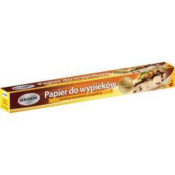 Grosik papier do pieczenia brązowy 6m
