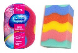 Cluo gąbka kapielowa Rainbow Tęcza