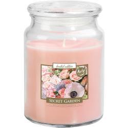 Bispol świeca zapachowa duża Secret Garden
