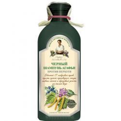 Babuszka Agafia szampon do włosów czarny-przeciwłupieżowy 350ml