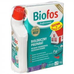 Biofos Professional Zestaw proszek do szamb 1kg+żel 500ml