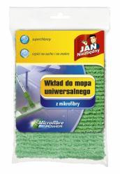 Jan Niezbędny mop płaski z mikrofibry wkład zielony