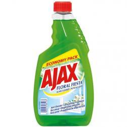 Ajax płyn do szyb 750ml floral fiesta zapas