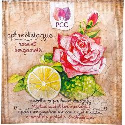 Saszetka zapachowa do szafy Róża i bergamotka