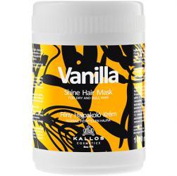 Kallos maska Vanilla do włosów suchych i matowych 1000ml