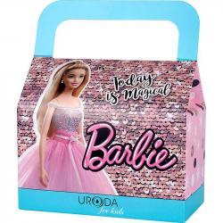 Uroda zestaw-kuferek Barbie Dreamtopia (edp+żel+pomadka)