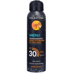 Kolastyna Opalanie spray ochronny MEN SPF30 150ml