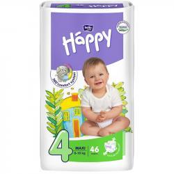 Bella Happy pieluszki Maxi 4 (8-18kg) 46 sztuki