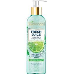 Bielenda Fresh Juice żel micelarny detoksykujący 190ml Limonka