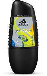 Adidas roll-on męski C&D Get Ready 48h 50ml