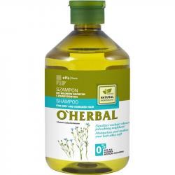 O Herbal szampon 500ml Len (włosy suche i zniszczone)
