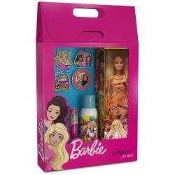 Bi-es Barbie zestaw Fashionistas pomadka do ust + dezodorant + lalka