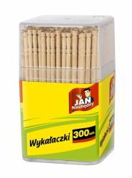Jan Niezbędny drewniane wykałaczki 300 sztuk w pudełku