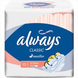 Always Classic Sensitive Normal 10 szt. podpaski