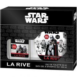 La Rive zestaw Star Wars First Order EDT 50ml + żel pod prysznic 250ml