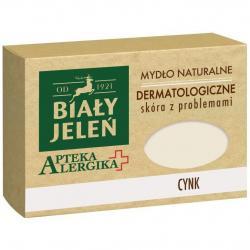Biały Jeleń Apteka Alergika mydło w kostce 125g Cynk