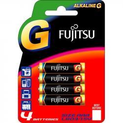 Fujitsu G baterie alkaliczne AAA LR03 4 sztuki