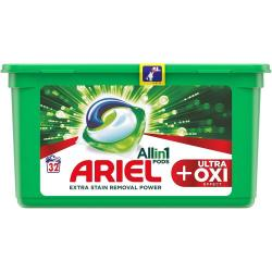 Ariel All in 1 Pods kapsułki do prania 32 sztuki Ultra + Oxi