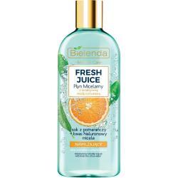 Bielenda Fresh Juice płyn micelarny nawilżający 500ml Pomarańcza