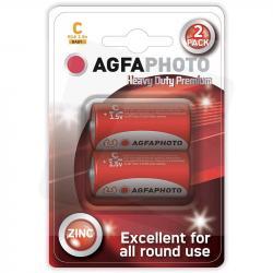 AgfaPhoto baterie cynkowe C R14 1,5V 2szt