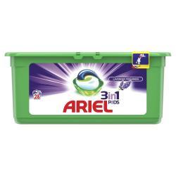 Ariel kapsułki do prania 3w1 28 sztuk Lawenda