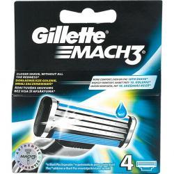 Gillette Mach 3 wkłady do maszynek 4 szt.