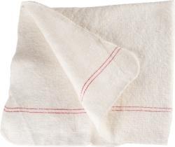 Cluo ścierka do podłogi biała 65 x 70cm bawełniana