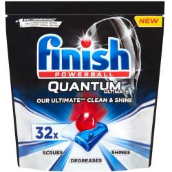 Finish Quantum Ultimate tabletki do zmywarek 32 sztuki Regular