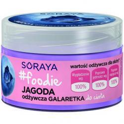 Soraya Foodie Jagoda Galaretka do ciała odżywcza 200ml