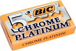 Bic żyletki chrome platinium 5 szt.