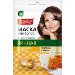 Fitokosmetik Maska o włosów jajeczna 30ml