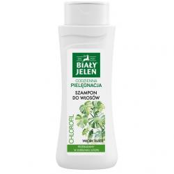 Biały Jeleń szampon do włosów tłustych z chlorofilem 300ml