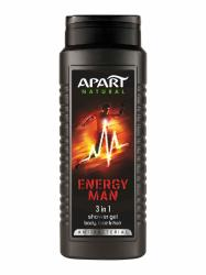 Apart 3w1 Energy Men żel pod prysznic 500ml