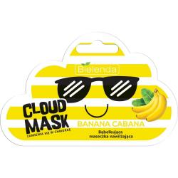 Bielenda Cloud Mask bąbelkująca maseczka nawilżająca Banana Cabana