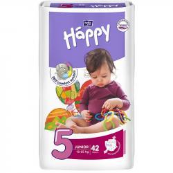 Bella Happy pieluszki Junior 5 (12-25kg) 42 sztuki