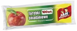 Jan Niezbędny foliowe woreczki śniadaniowe 100 szt.