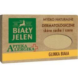 Biały Jeleń Apteka Alergika mydło naturalne 125g Glinka biała