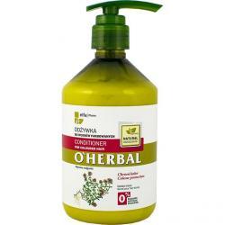 O Herbal odżywka do włosów 500ml Tymianek ( włosy farbowane)
