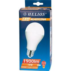 Helios LED żarówka klasyczna A70 230V 18W E27