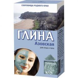 Fitokosmetik Glinka Azowska błękitna do twarzy i ciała 100g Tonizująca