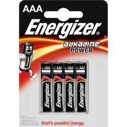 Energizer baterie alkaliczne AAA LR03 4 szt. cienkie paluszki