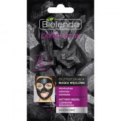 Bielenda Carbo Detox maska oczyszczająca do cery dojrzałej 8g