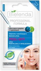 Bielenda Professional Formula głęboko nawilżająca maseczka do twarzy PEEL-OFF 2x5g