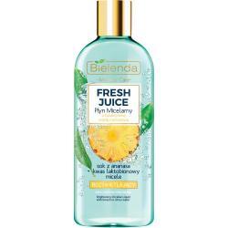 Bielenda Fresh Juice płyn micelarny rozświetlający 500ml Ananas