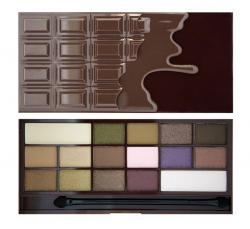 Revolution (I ♡ Makeup) paleta 16 cieni I Heart Chocolate
